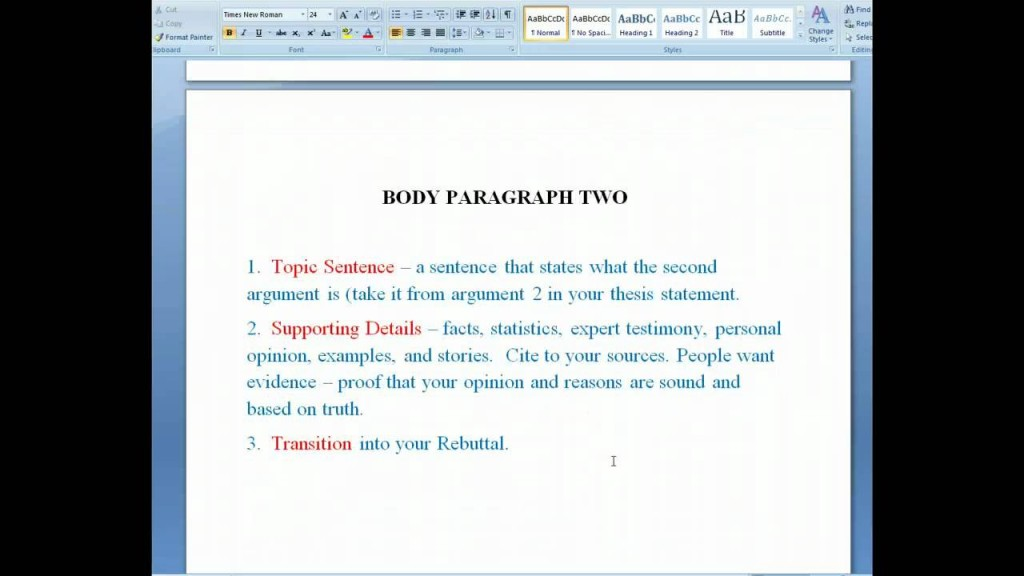010 Research Paper Argumentative Awful College Topics Sample Outline Mla Large