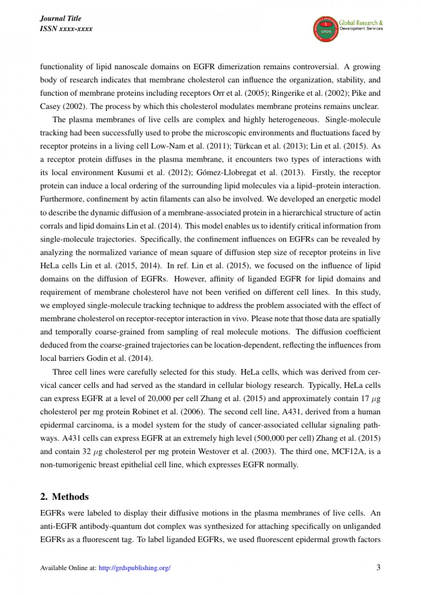 010 Research Paper Article How To Write For International Rare A Conference