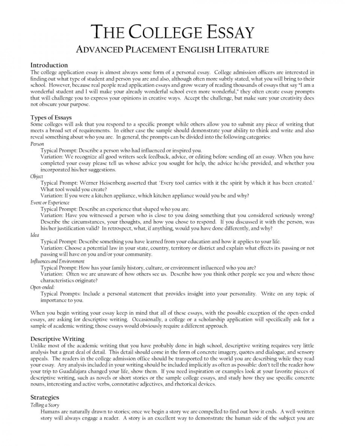 Essay About Health  Teaching Essay Writing High School also Analysis Essay Thesis Example  Research Paper Example Of College Essay  Museumlegs Science Essay Topic