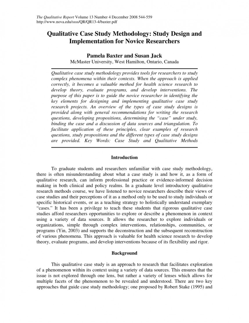 010 Research Paper Example Of Methodology For Unusual In Sample