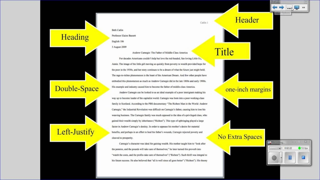 010 Research Paper Format Striking A The Imrad Writing Apa Large