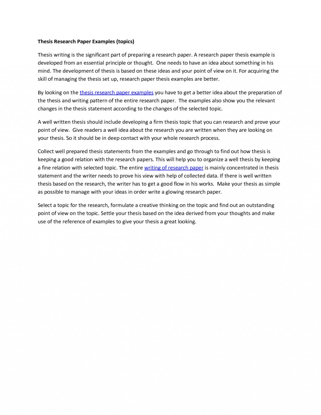 010 Research Paper Help Thesis Statement Examples Stupendous Of Example A Good Outline Large