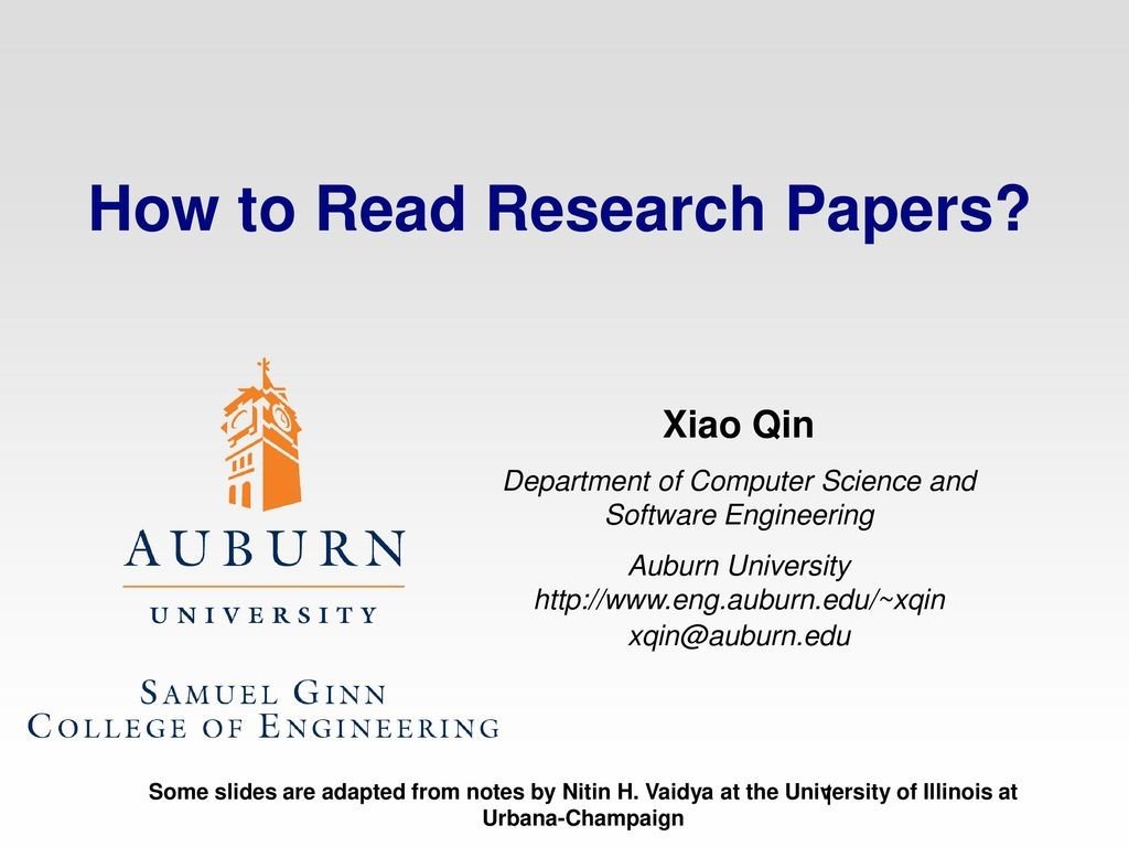 010 Research Paper How To Read Papers Computer Science Stupendous Large