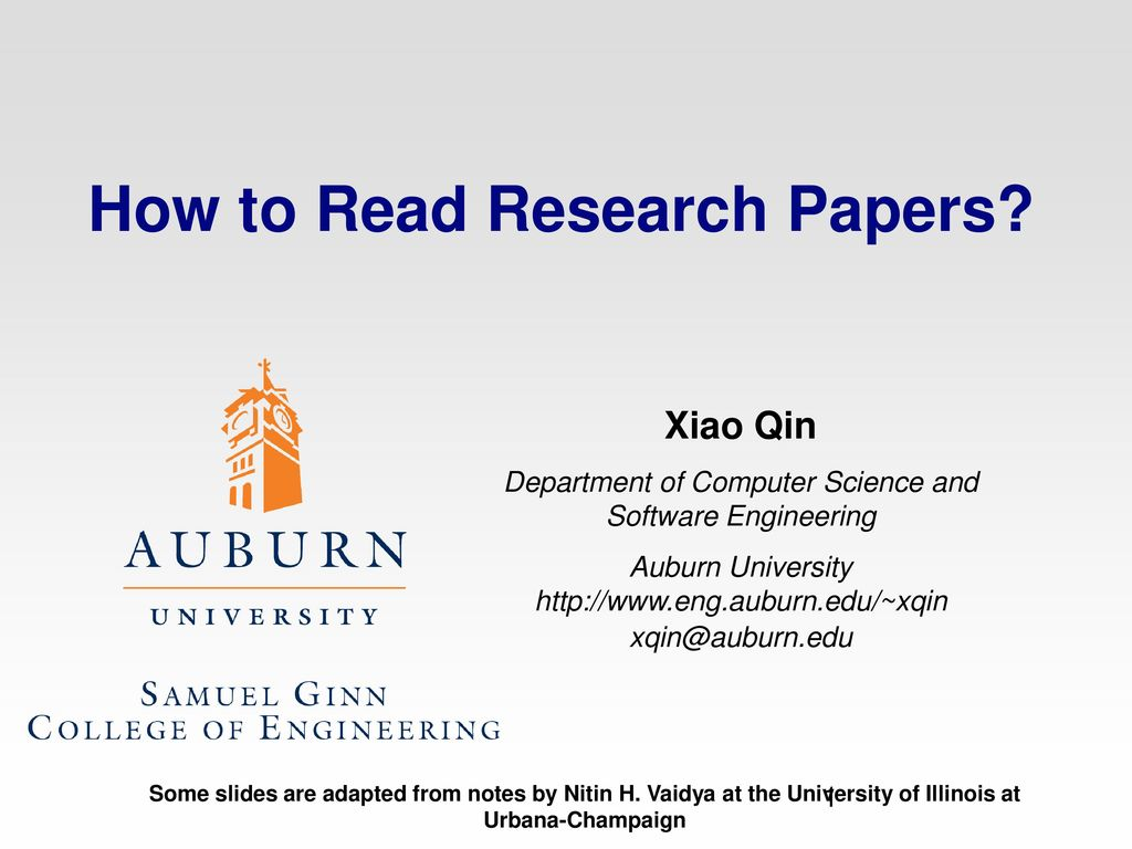 010 Research Paper How To Read Papers Computer Science Stupendous Full