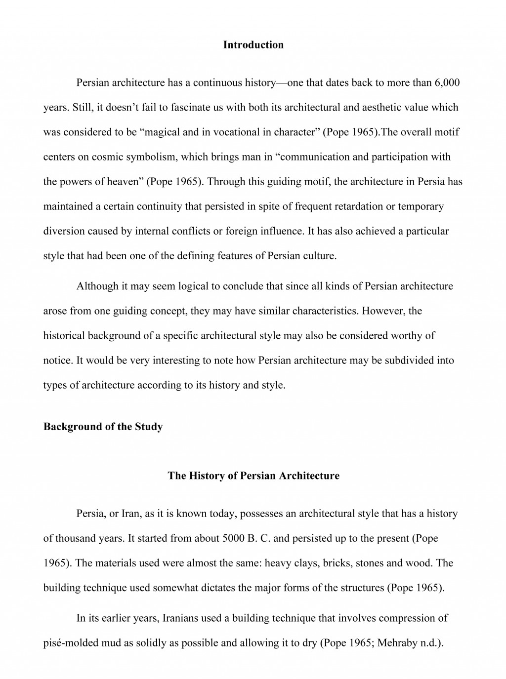 010 Research Paper How To Write Thesis For Fantastic A History Large