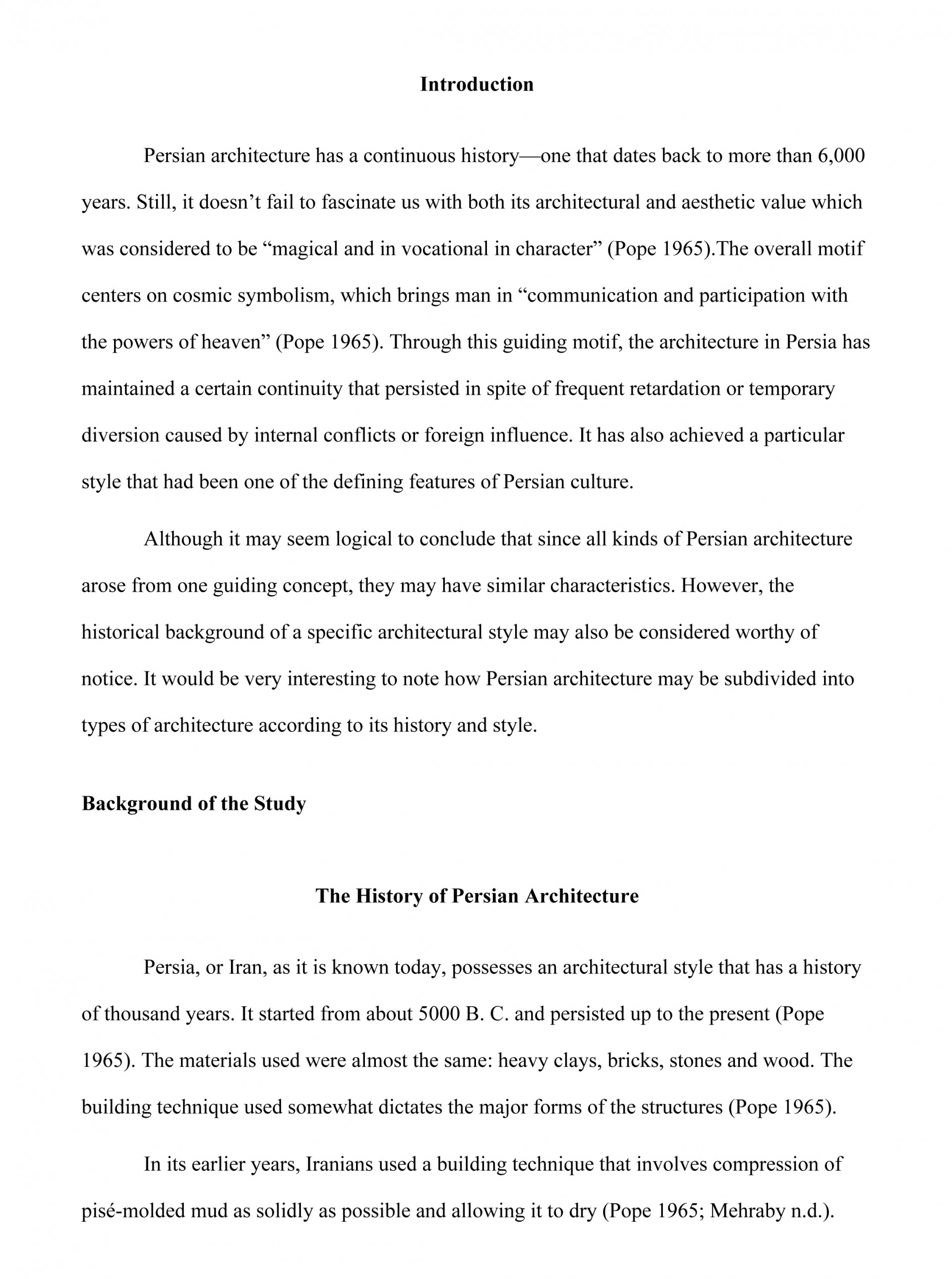 010 Research Paper How To Write Thesis For Fantastic A History 1920