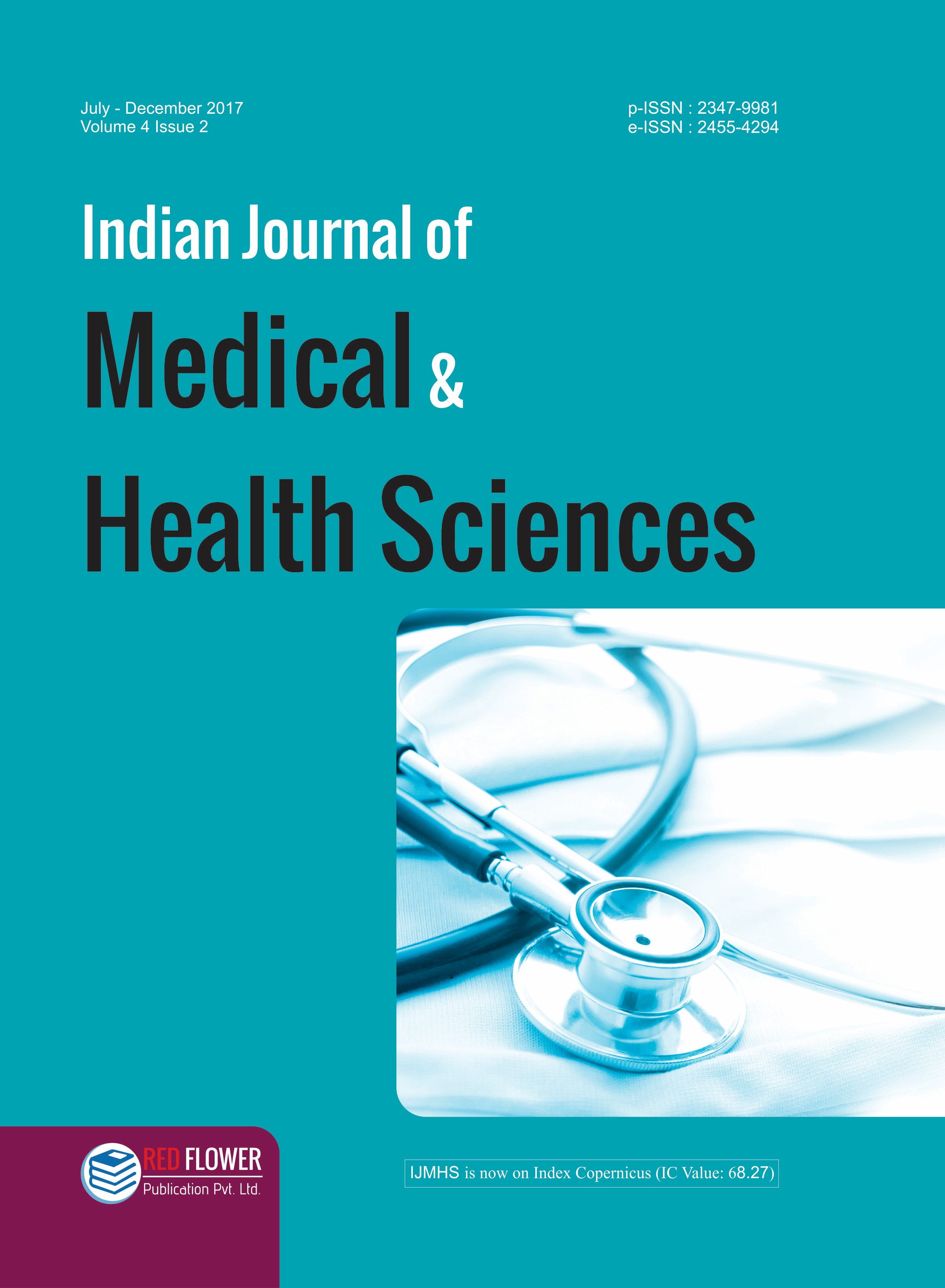 010 Research Paper Ijmhs  41 How To Publish Medical In Breathtaking IndiaFull