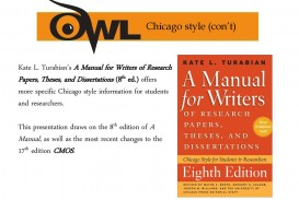 010 Research Paper Manual For Writers Of Papers Theses And Dissertations 8th Imposing 13