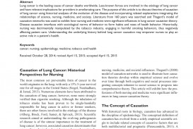 010 Research Paper On Singular Cancer Treatment About Lung Pdf Screenings