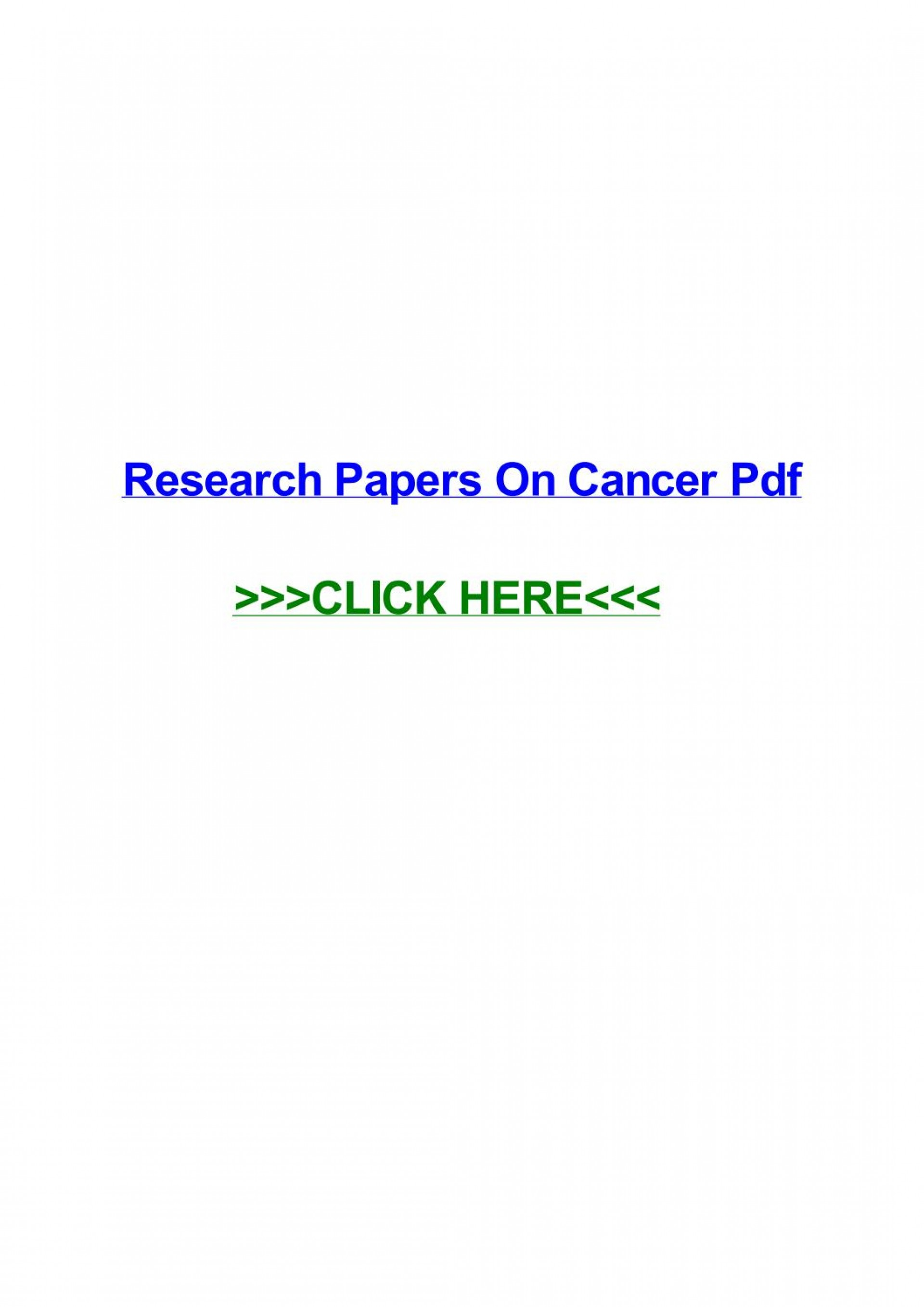 010 Research Paper Page 1 Cancer Papers Fascinating Pdf Lung Colon Skin 1920