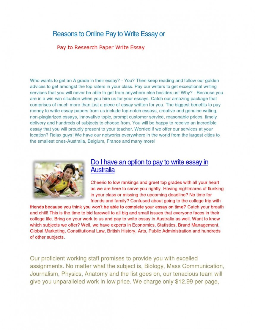 010 Research Paper Pay For Page 1 Excellent Writing Equal Work In India