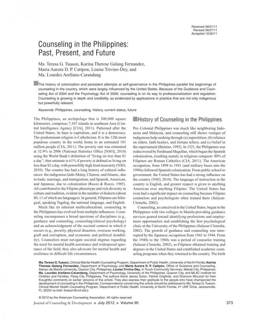 010 Research Paper Poverty In The Philippines Pdf Impressive 868
