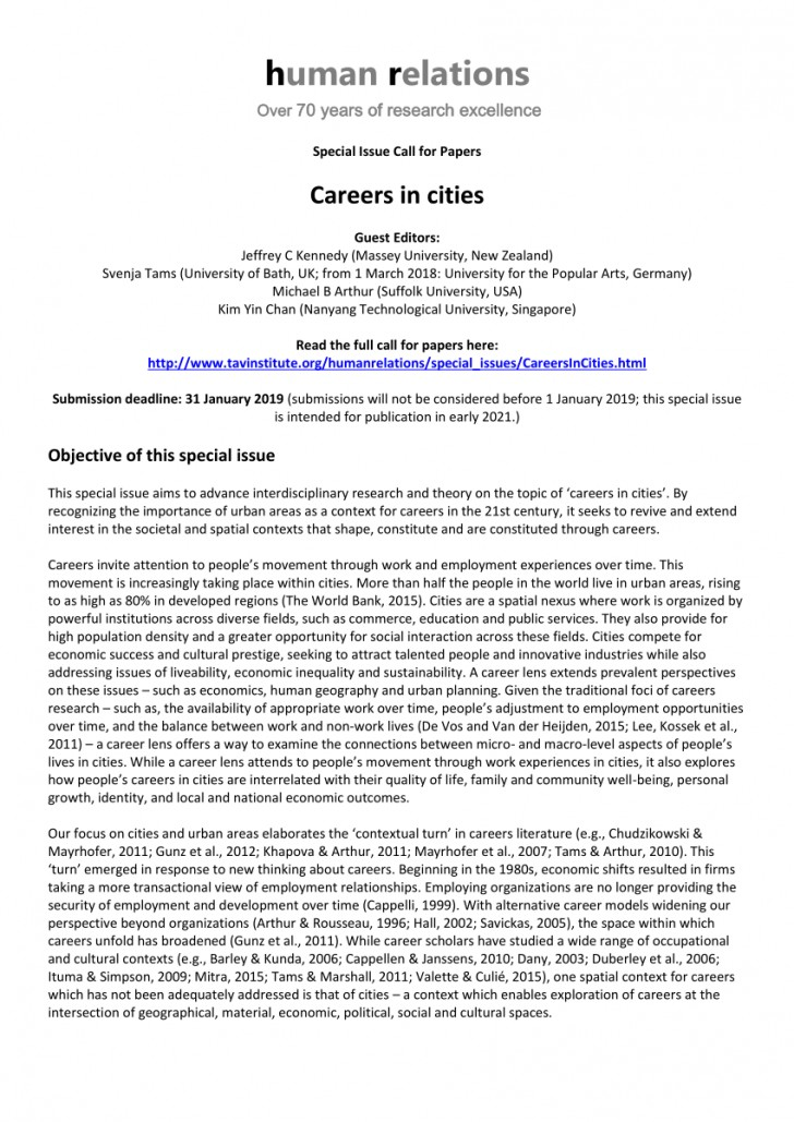 010 Research Papers On Careers Paper Remarkable Example Of A Career Choice Examples 728