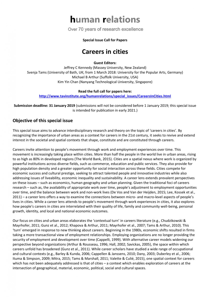010 Research Papers On Careers Paper Remarkable Example Of A Career Choice Examples 868