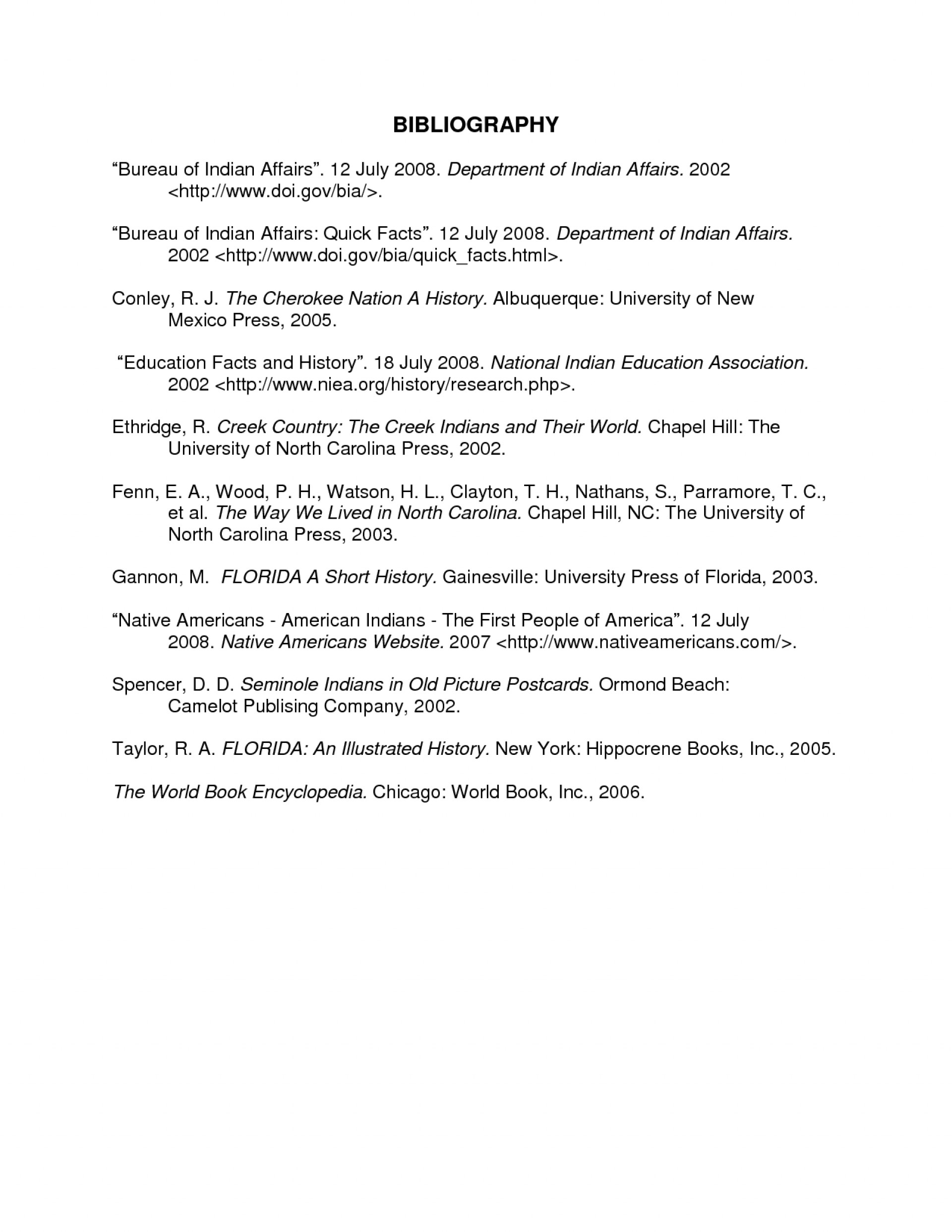 011 Annotated Bibliography Research Paper Example Template Imposing Proposal And 1920