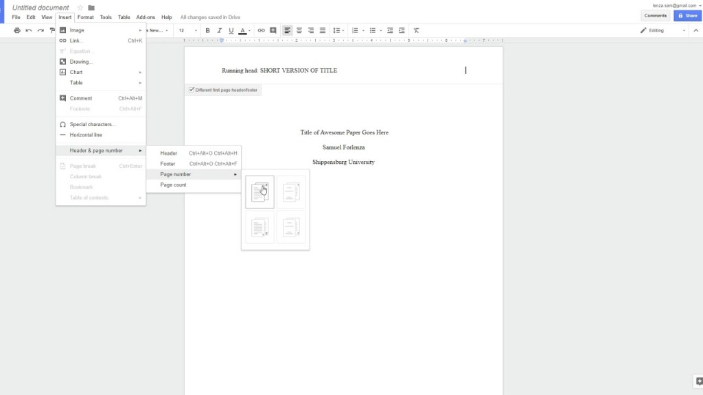 011 Apa Research Paper Template Google Docs Magnificent Large