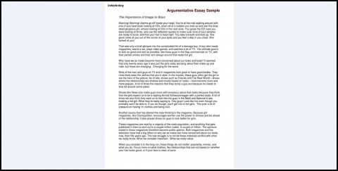 011 Argumentative Essay Sample Research Dreaded Paper Topics High School Apa Style Proposal Example 480
