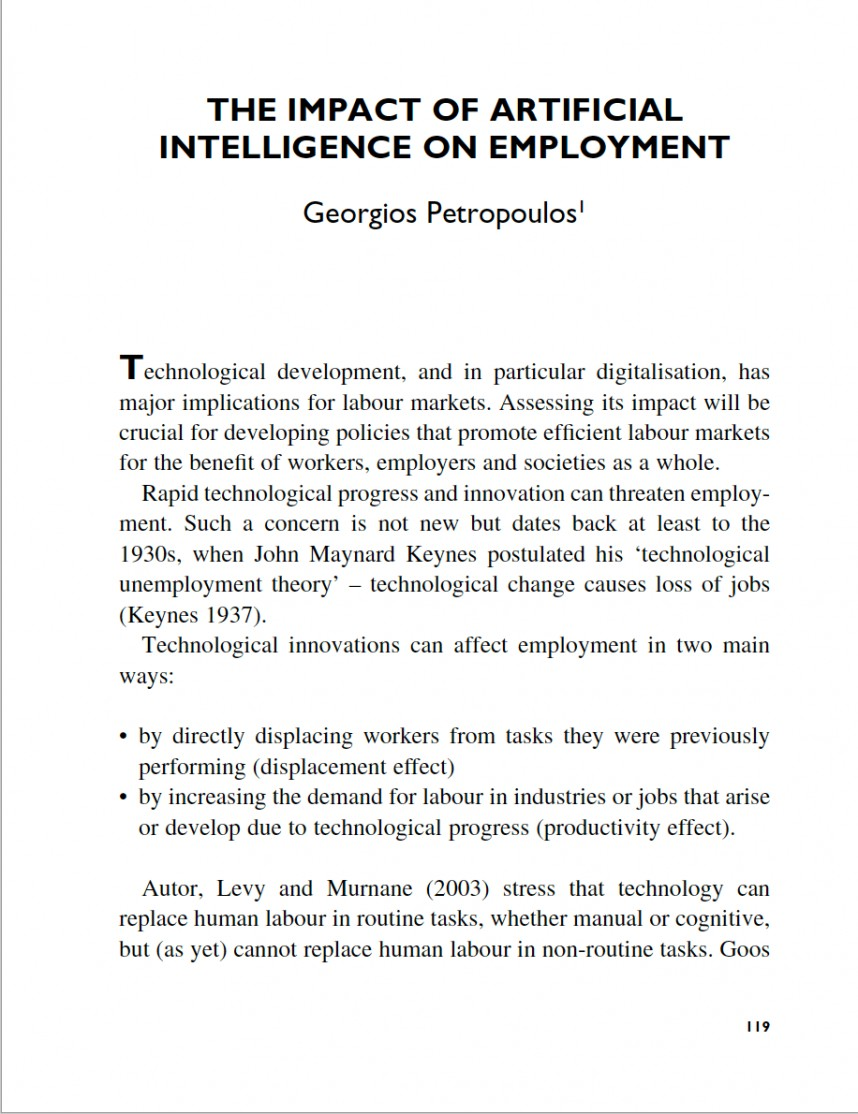 011 Artificial Intelligence Researchs Essays Screen Shot At Striking Research Papers Paper Ideas Pdf Topics