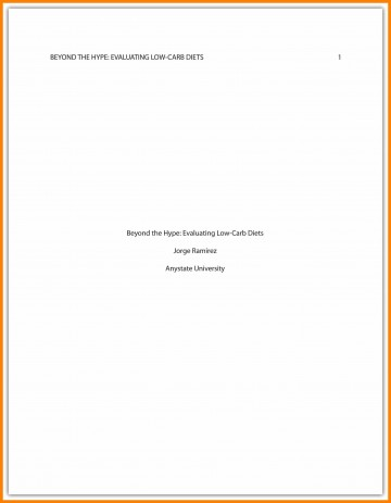 011 Asa Format Research Paper Example Sample Cover Page Apa Singular 360