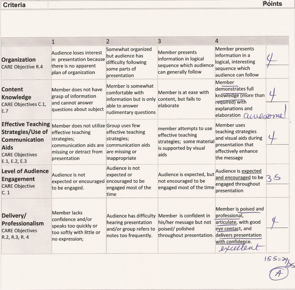 011 Biology Research Paper Dreaded Rubric High School Large