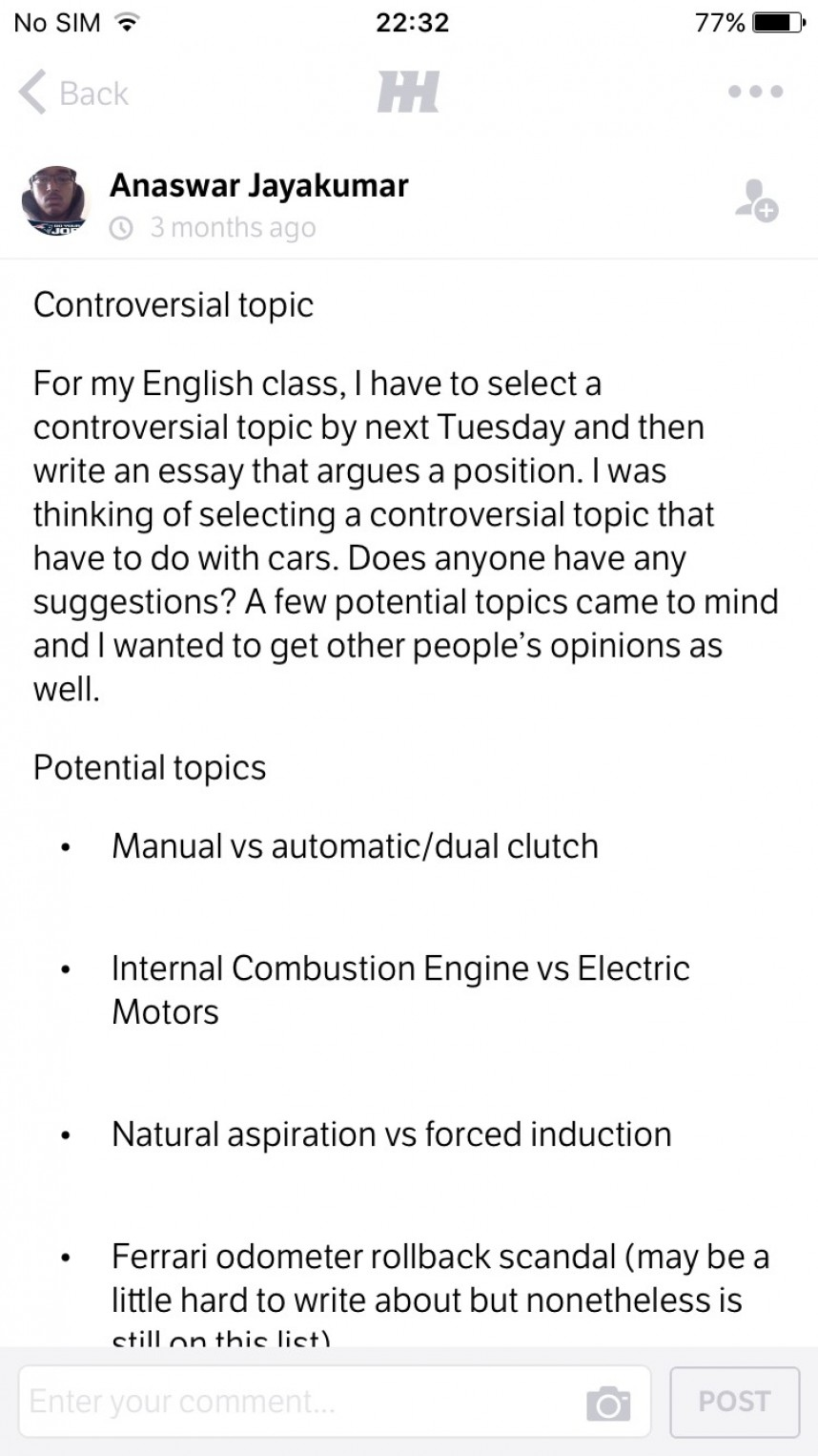 011 Controversial Topic Essay Topics Example Research Paper Outline20 Breathtaking Issue 868