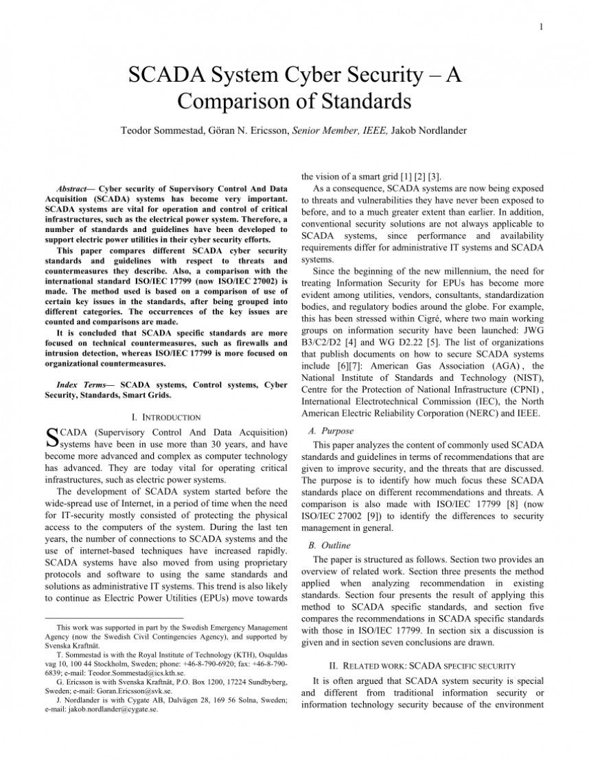 011 Cyber Security Research Paper Pdf Unique Ieee On Network