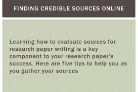 011 Findingcrediblesourcesonline Credible Sources For Researchs Awful Research Papers High School Paper List Of