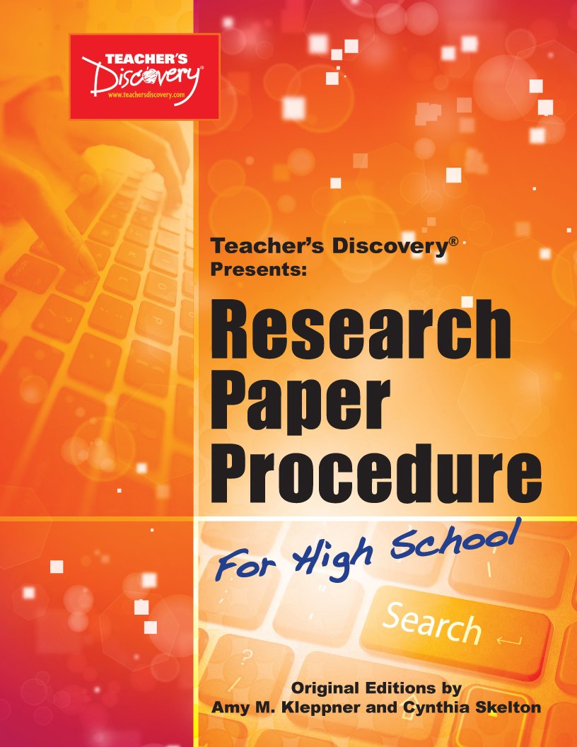 011 How To Publish Research Paper In High School Unusual A Full
