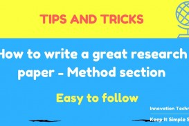011 How Write Research Paper Unusual To A Good Abstract References In Ppt Great