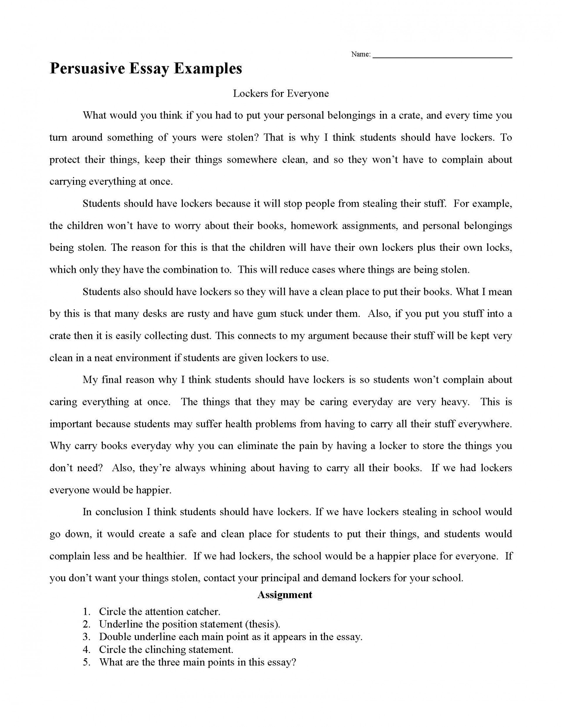 011 Middle School Science Fair Research Paper Template Persuasive Essay Examples Frightening 1920