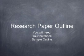 011 Outline For Research Paper Powerpoint Slide 1 Awesome Of Ppt