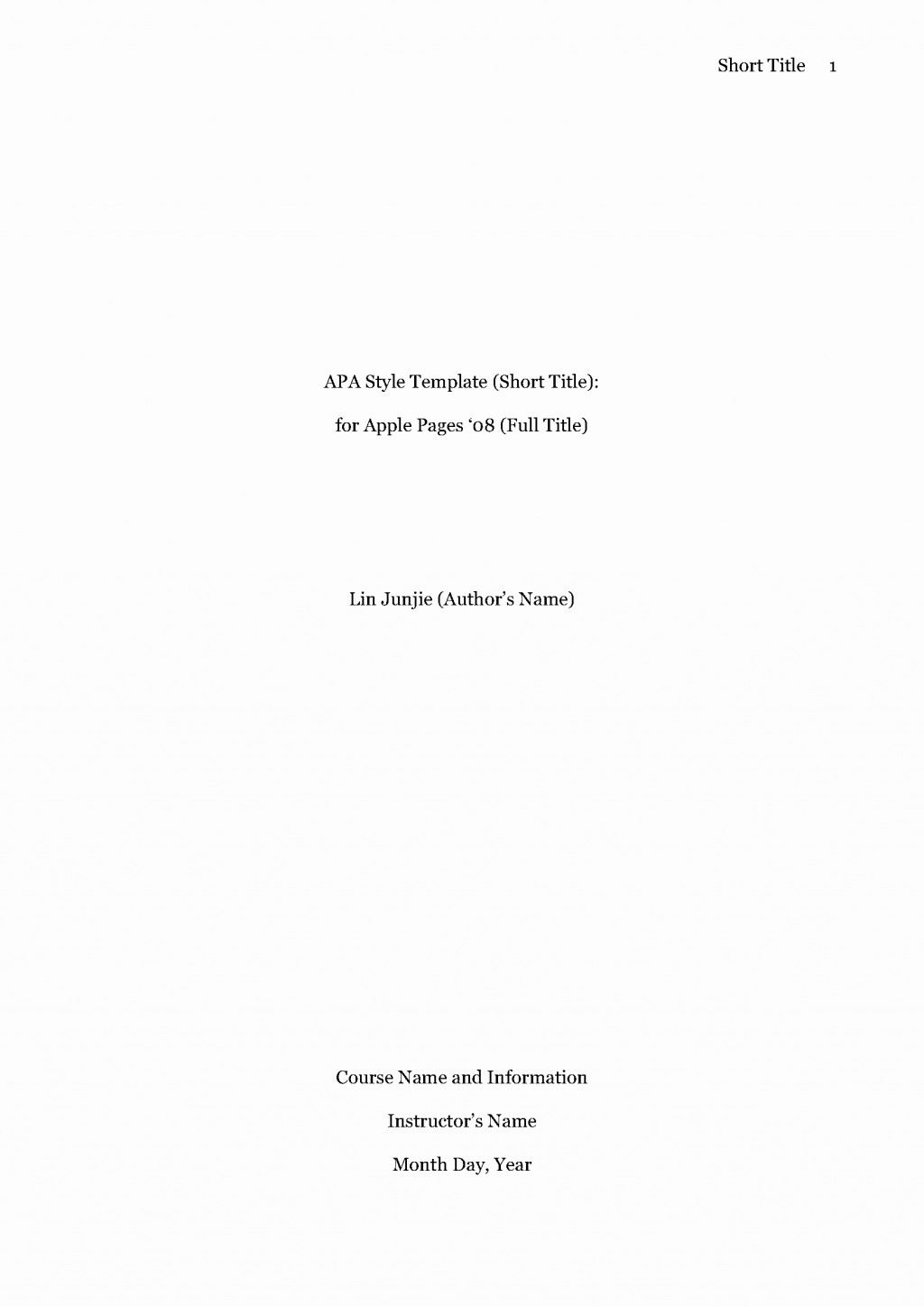 011 Research Paper Apa Style Title Page Template Beautiful Mla Format Bamboodownunder Of Breathtaking Cover Large