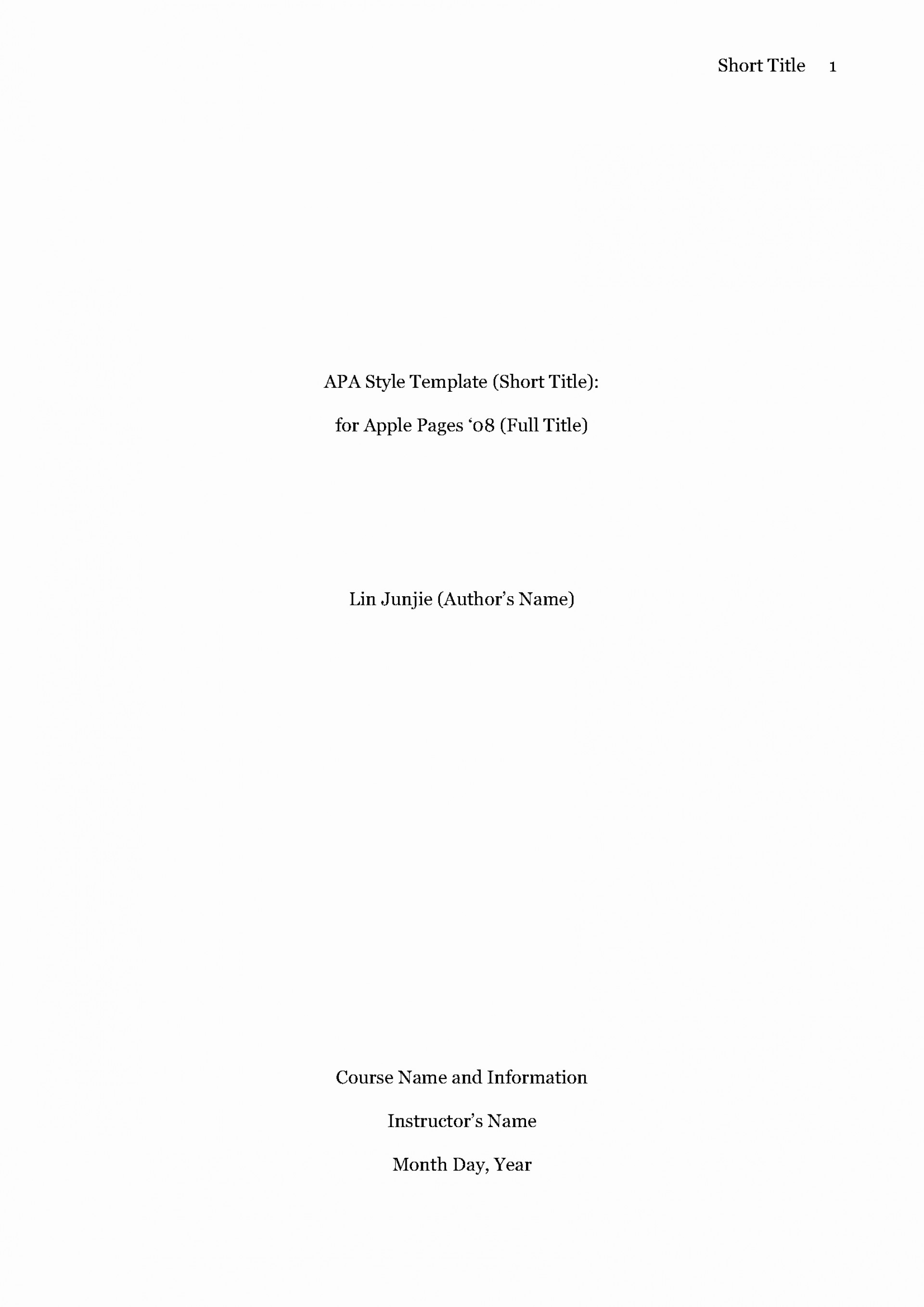011 Research Paper Apa Style Title Page Template Beautiful Mla Format Bamboodownunder Of Breathtaking Cover 1920