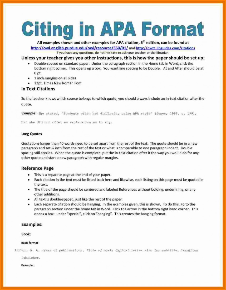 011 Research Paper Asa Format Example Sample Samples Bibliography Apa Reference Page Staggering