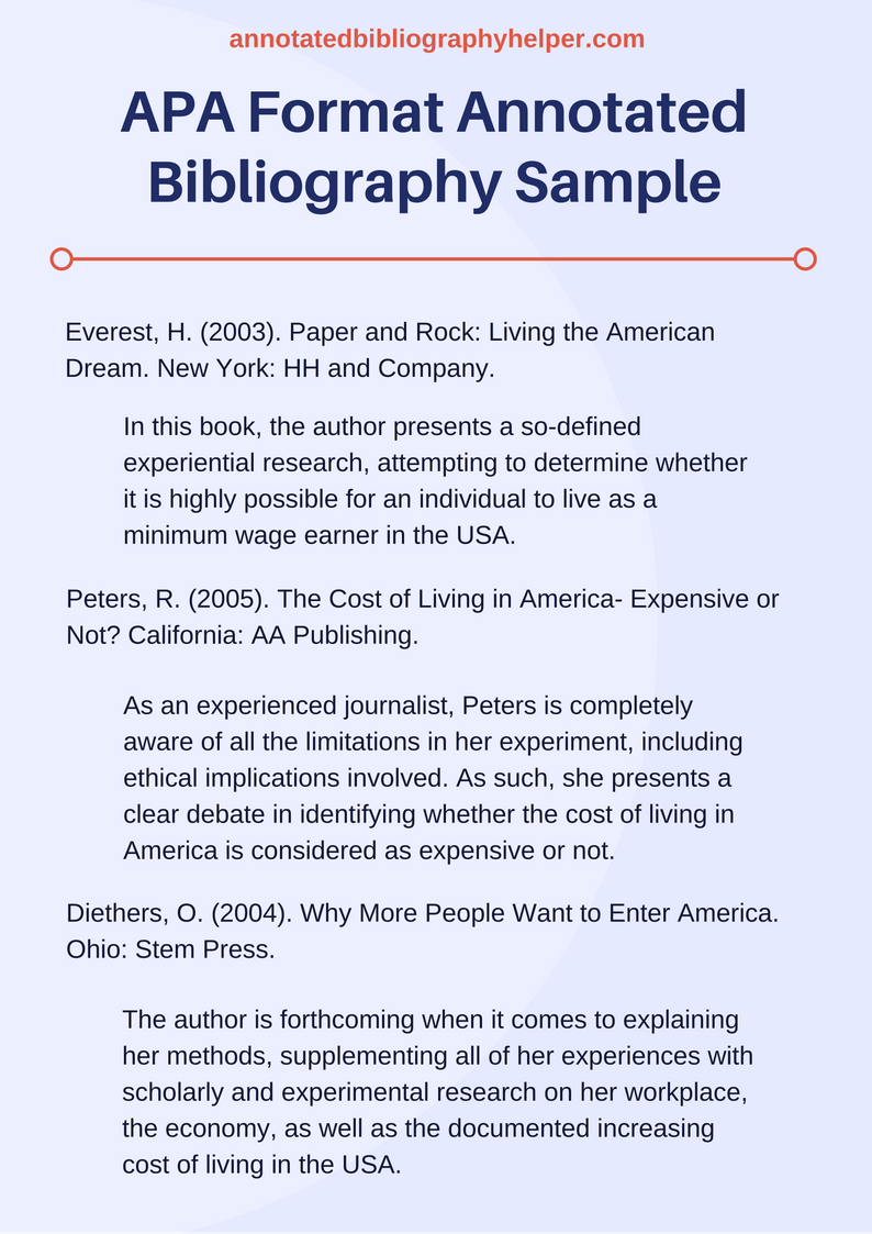 011 Research Paper Bibliography Sample Dreaded Format For Annotated Citing A Full