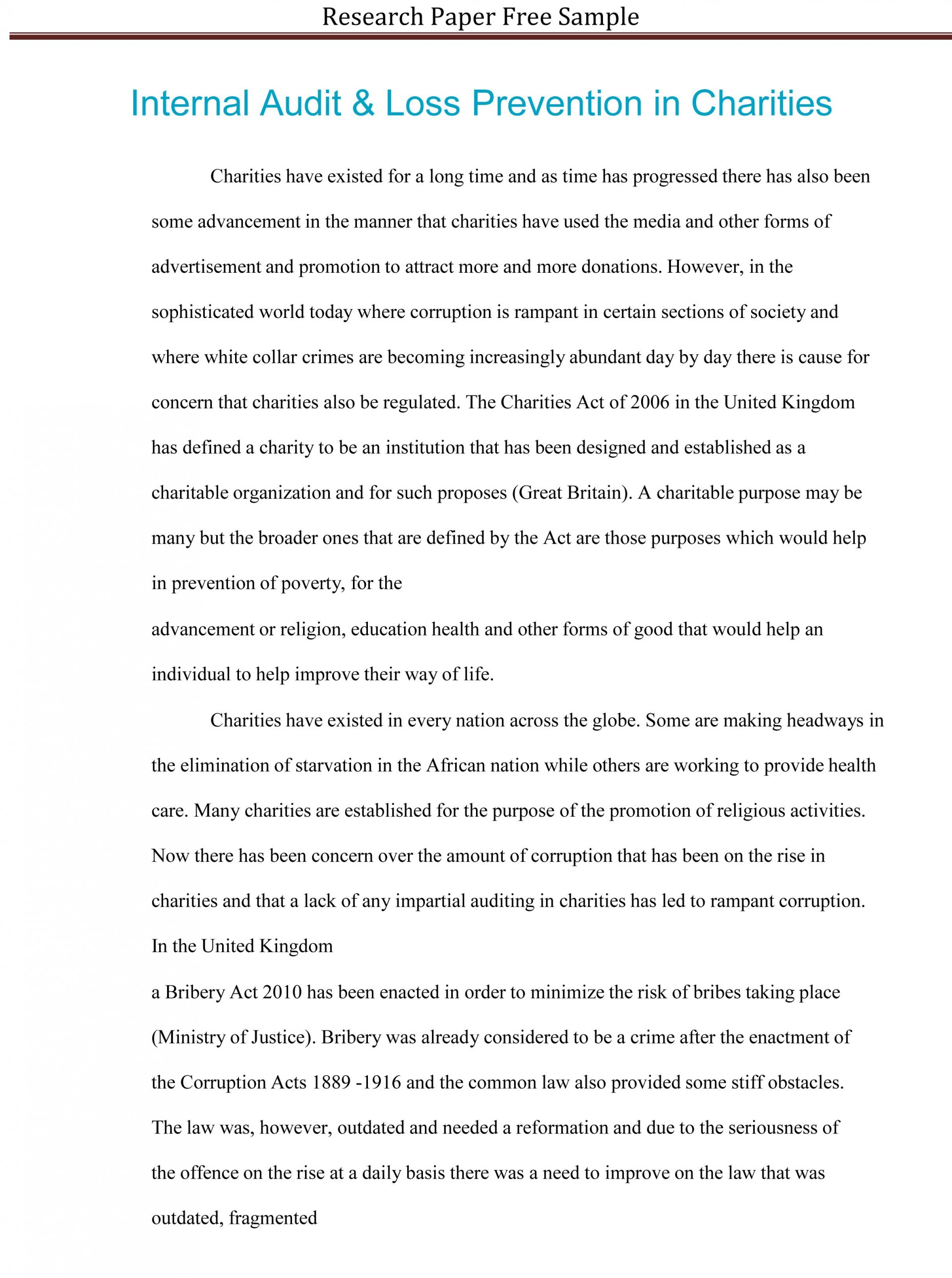 011 Research Paper College Level Example Staggering Pdf Sample Apa 1920
