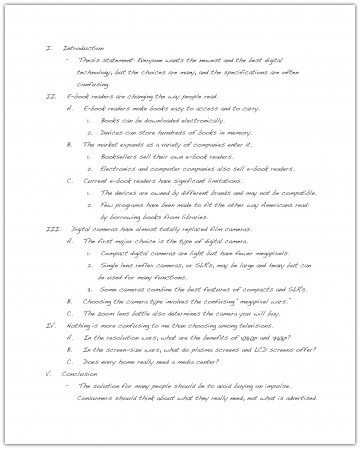 011 Research Paper How To Do An Outline For Stupendous A Example Write Sample 360