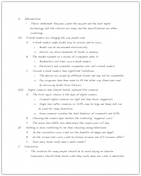 011 Research Paper How To Do An Outline For Stupendous A Example Write Sample 480