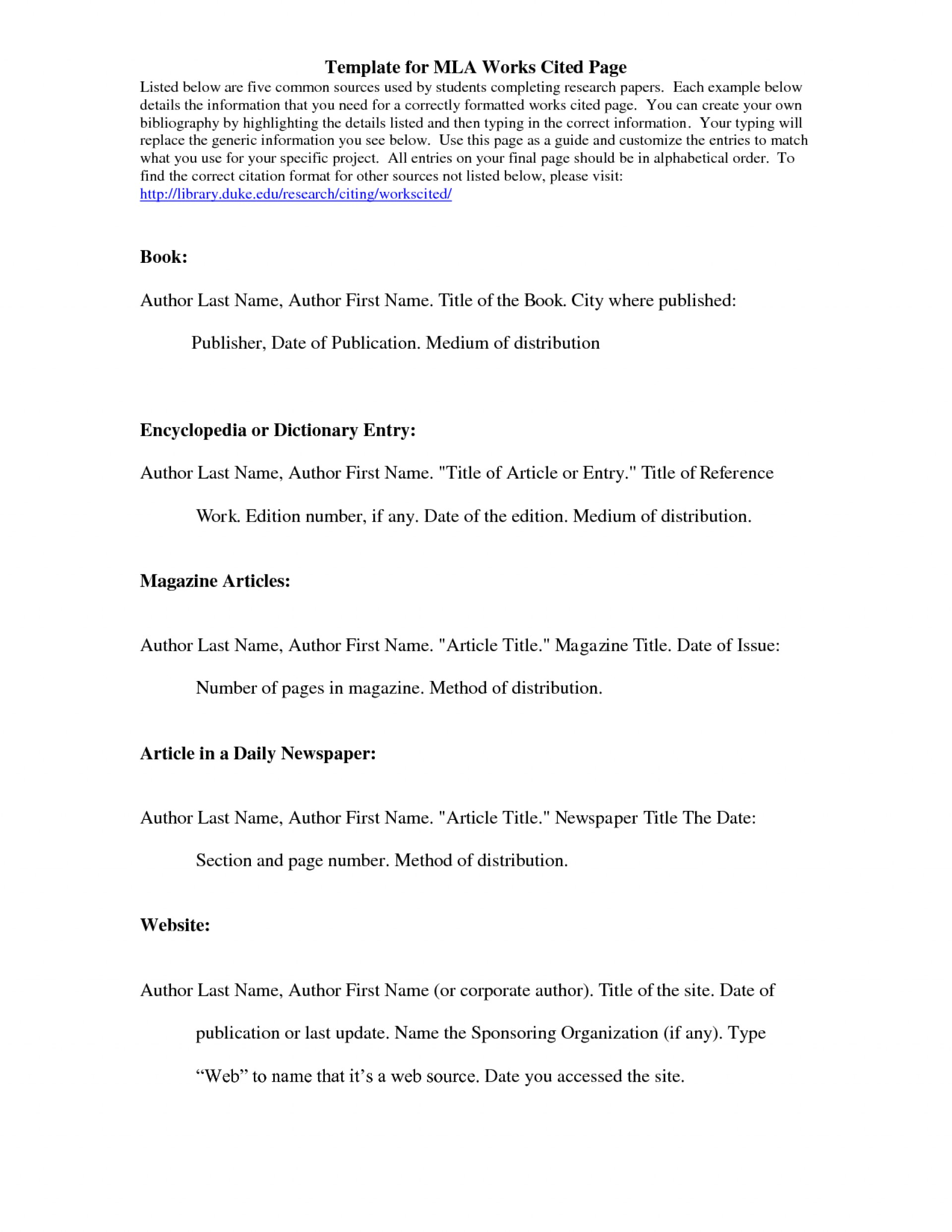 011 Research Paper How To Do Mla Works Cited Unusual For A Page 1920