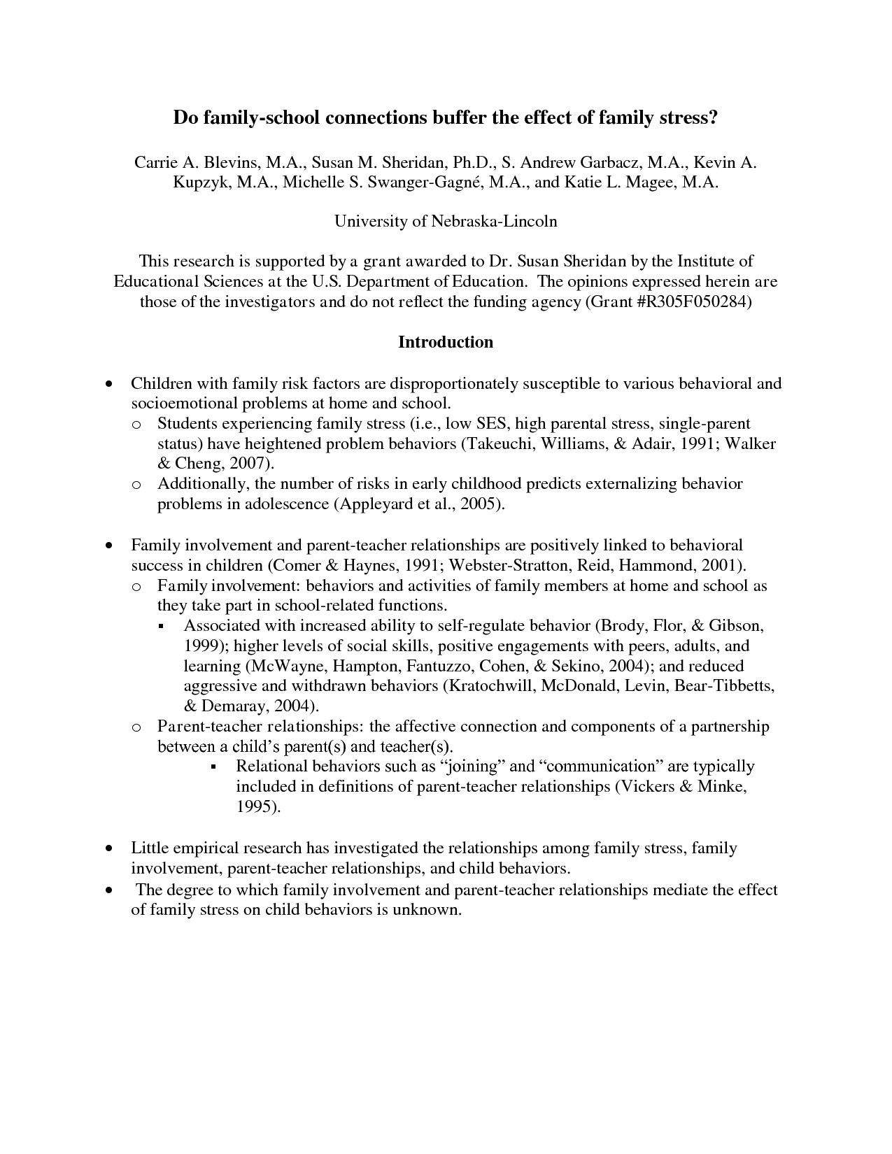 011 Research Paper How To Write An Introduction For Fearsome A Apa Full