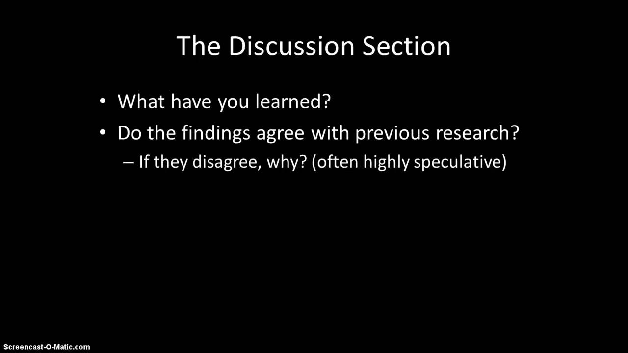 011 Research Paper How To Write Results Of Magnificent A And Discussion In Pdf The Section Full