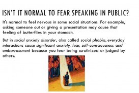 011 Research Paper Isne28099titnormaltofearspeakinginpublic Anxiety Staggering Example