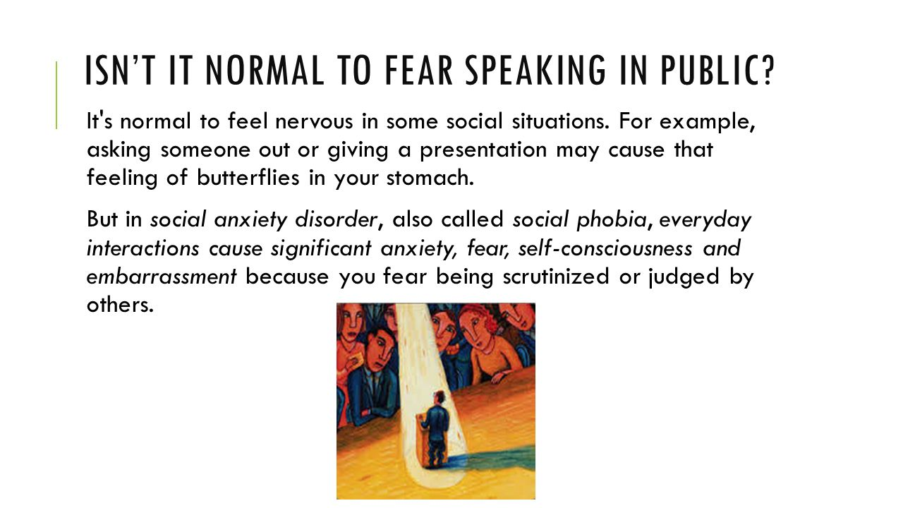 011 Research Paper Isne28099titnormaltofearspeakinginpublic Anxiety Staggering Example Full