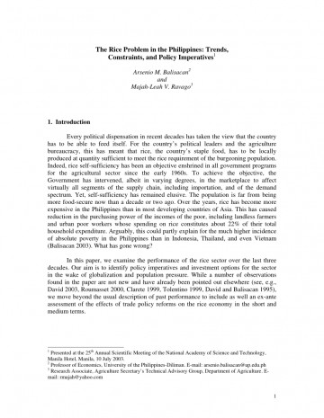 011 Research Paper Largepreview Poverty In The Philippines Impressive Pdf 360