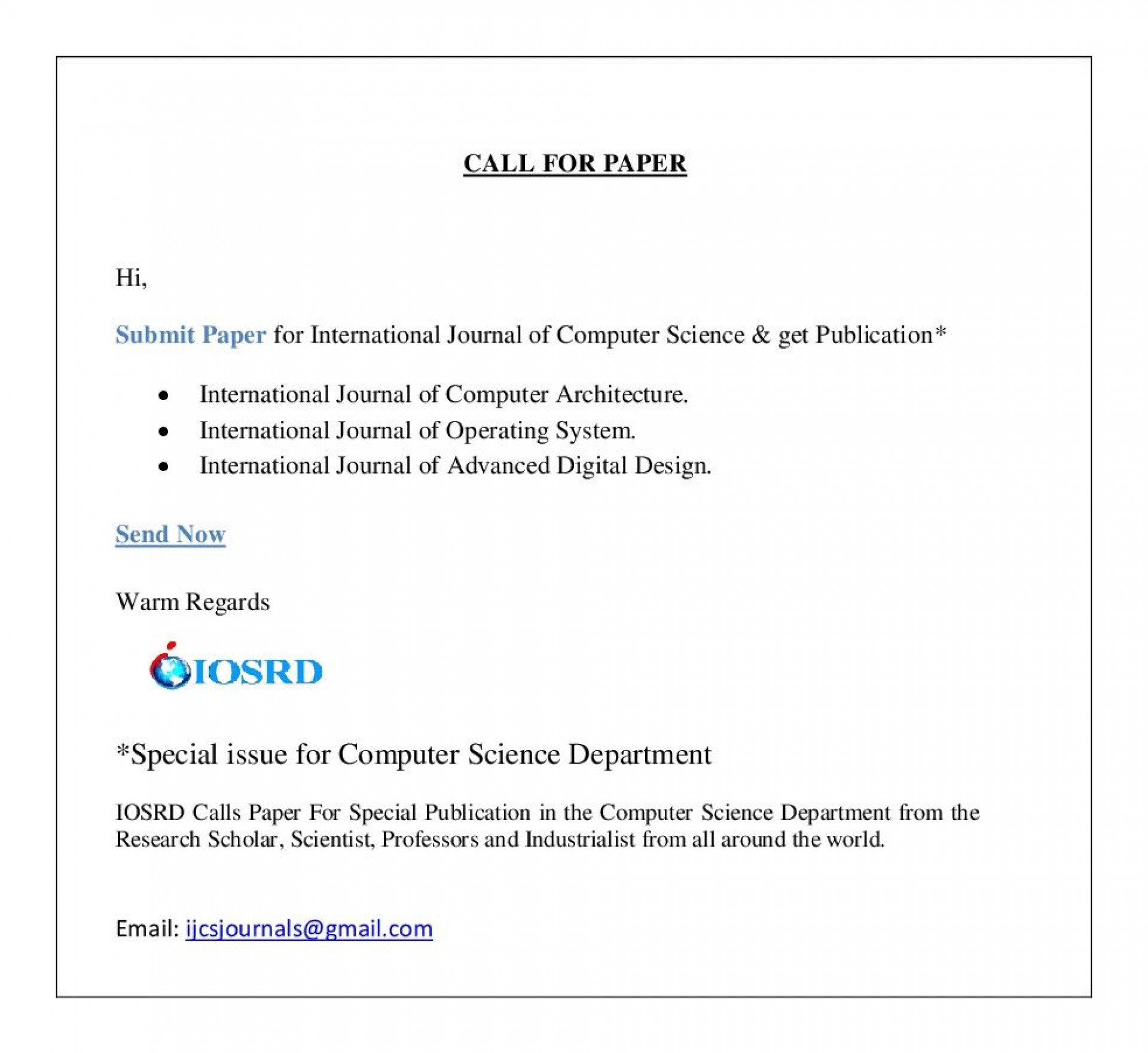 011 Research Paper Latest Papers In Computer Science Dreaded 2018 1920