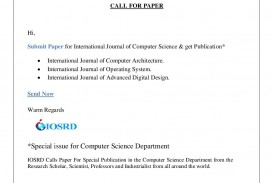 011 Research Paper Latest Papers In Computer Science Dreaded 2018