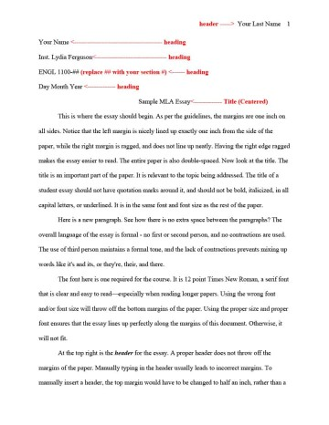 011 Research Paper Mla Format Template Proper For Unbelievable Papers 360