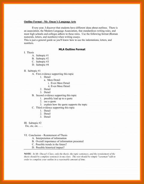 011 Research Paper Mla Style Format Best Of Outline Unbelievable 8 480