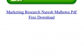 011 Research Paper Page 1 Marketing Papers Pdf Free Impressive Download