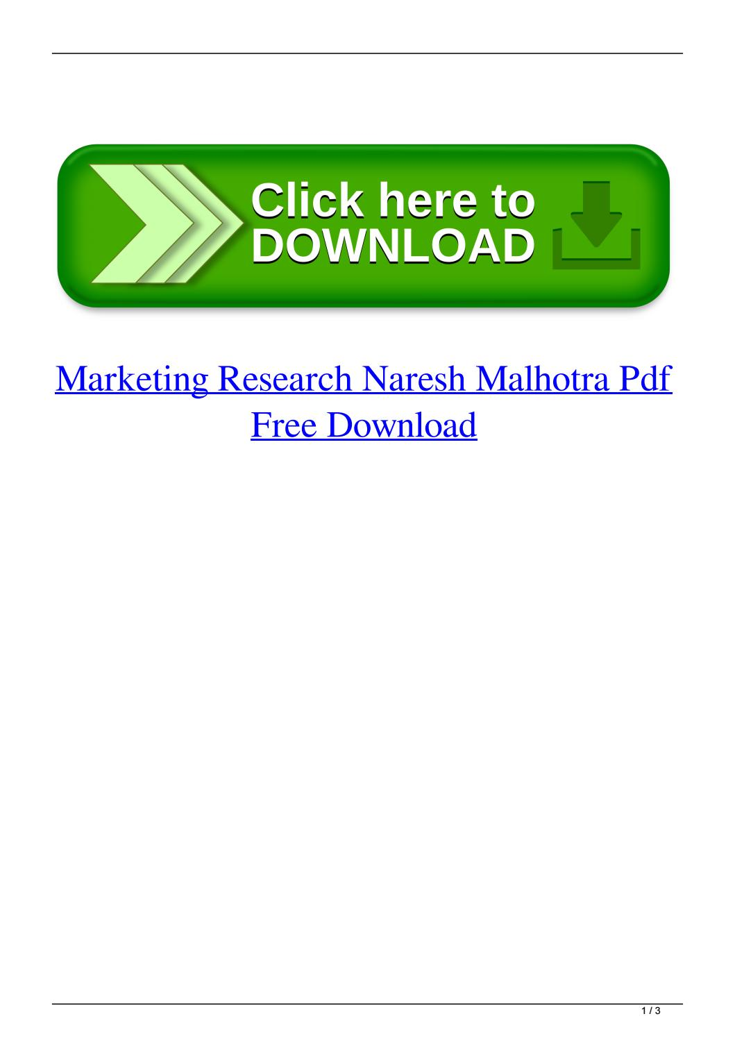 011 Research Paper Page 1 Marketing Papers Pdf Free Impressive Download Full